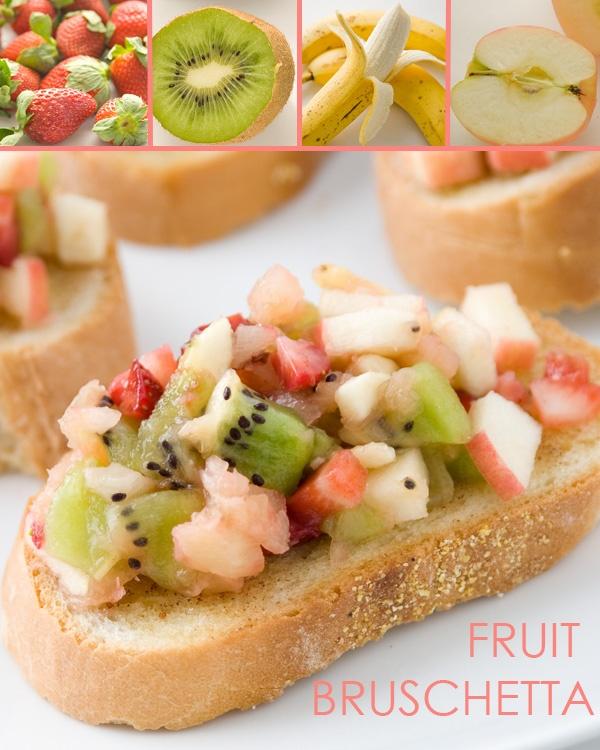 Fruit Bruschetta & Fruit Salsa