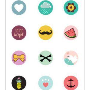 Millamae Stickers