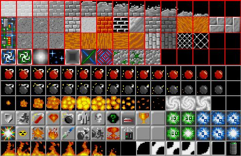 Bomberman tileset
