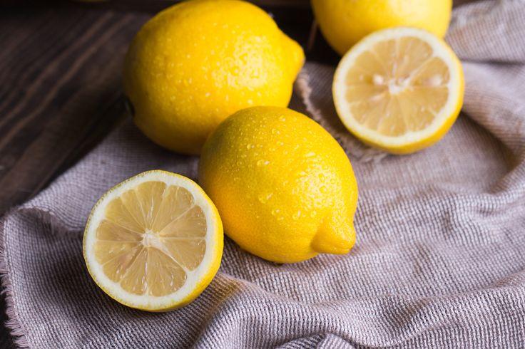 1er principe: boire du jus de citron au réveil