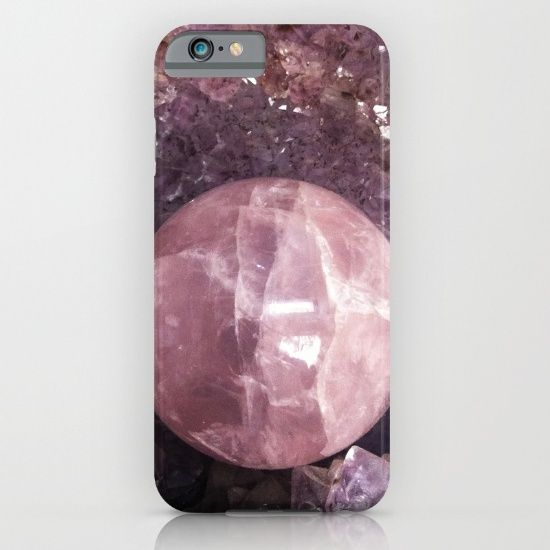 TODAY -$6 OFF PHONE CASES  & ALL TECH GEAR 10% OFF EVERYTHING ELSE FREE SHIPPING ALL ORDERS  #christmas #society6 https://society6.com/product/amethyst-and-pink-quartz_iphone-case#s6-4280952p20a9v431a52v377