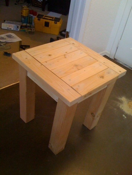 DIY nightstand- add some beat up marks and a dark rustic stain and I think these would be great!! Andy??..........