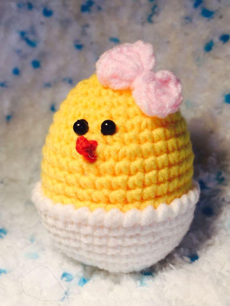 Купить Вязаные Пасхальные Цыплятки - Пасха, цыпленок, пасхальный, сувенир, яйцо, ручная работа, подарок