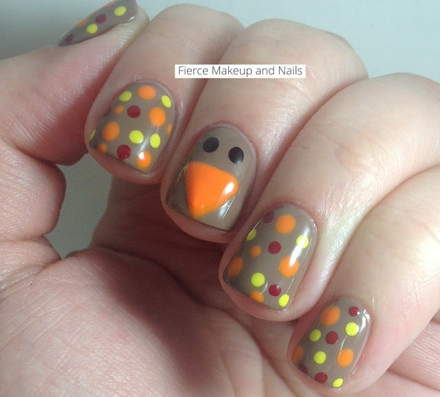 38 best Thanksgiving images on Pinterest | Autumn nails, Nail ...