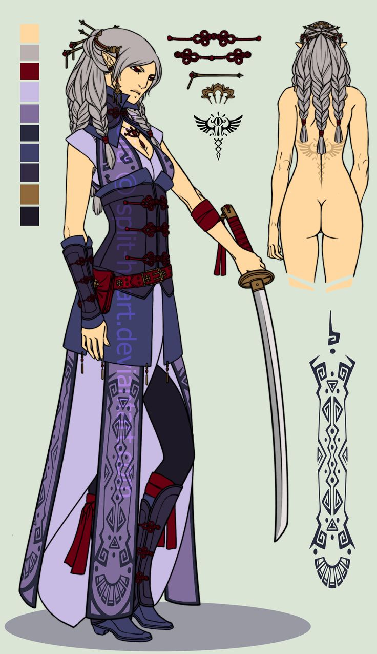 This kind of reminds me of a sort of an asian steampunk. ZeldaOC: Esila by Split-Heart.deviantart.com on @deviantART