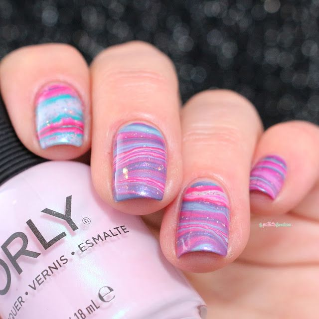 597 best Water Marble Nail Art 2 images on Pinterest | Water marble ...