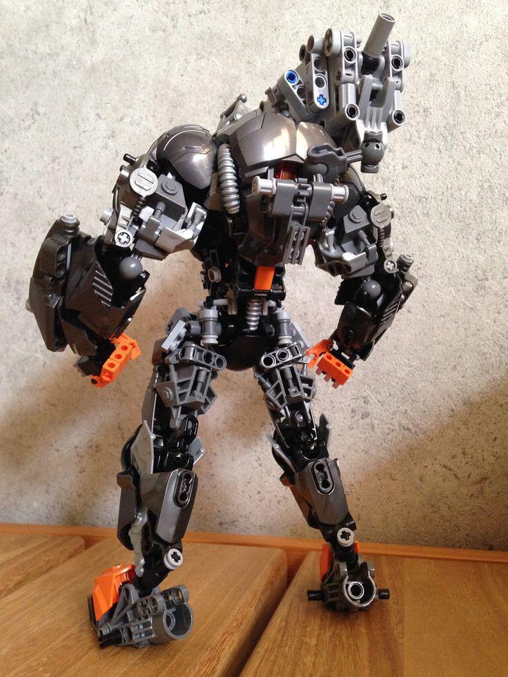 04 Lego hero factory, Lego bionicle, Cool lego