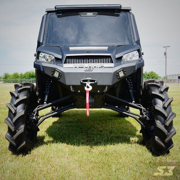 [Overstock] S3 Power Sports Polaris Ranger XP 900 / Ranger XP 1000 Front Winch Bumper, Black Only