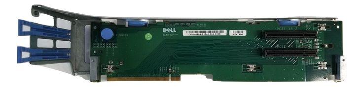 DELL POWEREDGE 2950 2 SLOT PCI-E RISER CARD BOARD H6183 0H6183