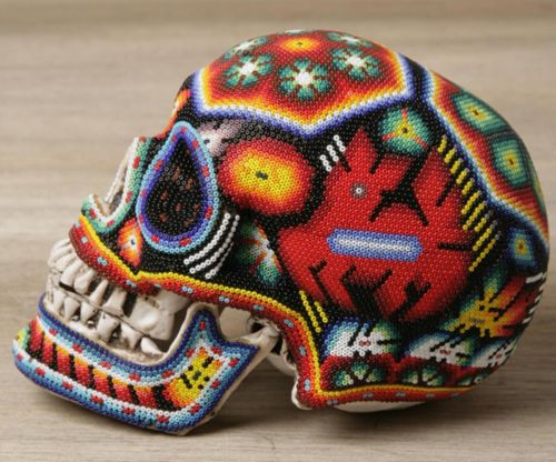 Beaded Skulls | Our Exquisite Corpse