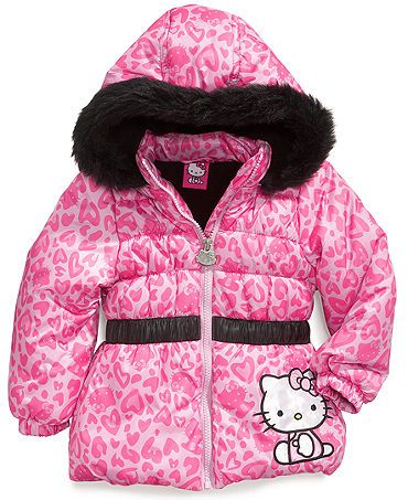 Girls Hello Kitty Coat