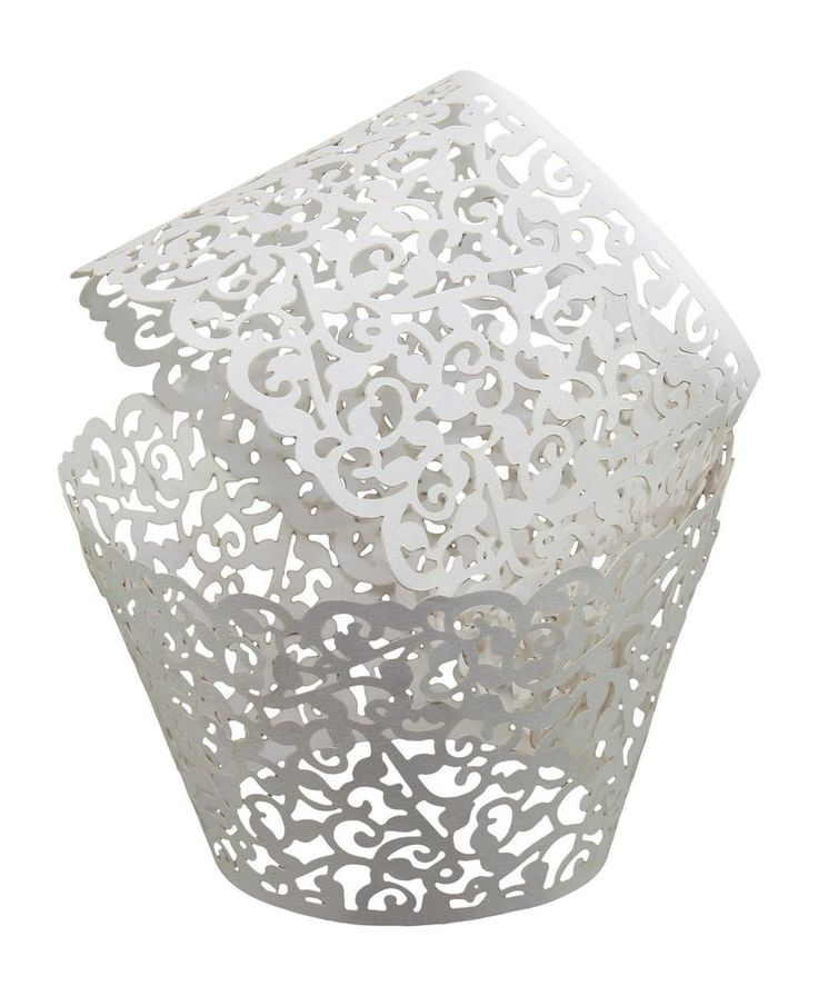 Laser Cut Paper Cupcake Liners Birthday Wedding Muffin Cake Wrapper 108 pcs Pack #KAYSOINC