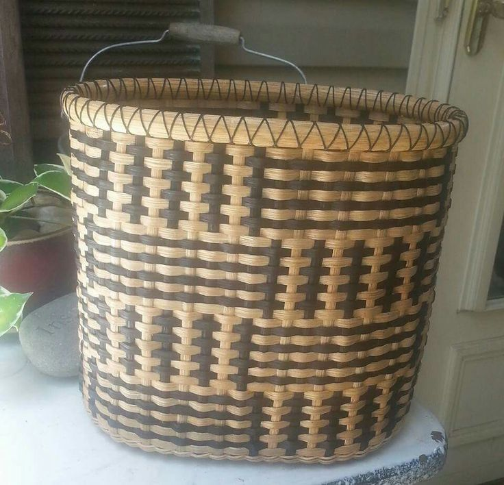 Rattan Basket Weaving Patterns : Best baskets images on layette