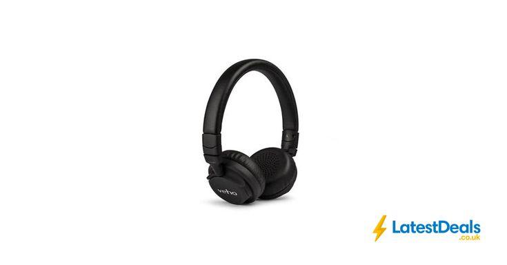 VEHO ZB-5 ON-EAR WIRELESS BLUETOOTH HEADPHONES at VEHO/ebay, £29.95