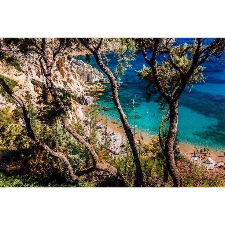 Vroulidia beach, Chios island.