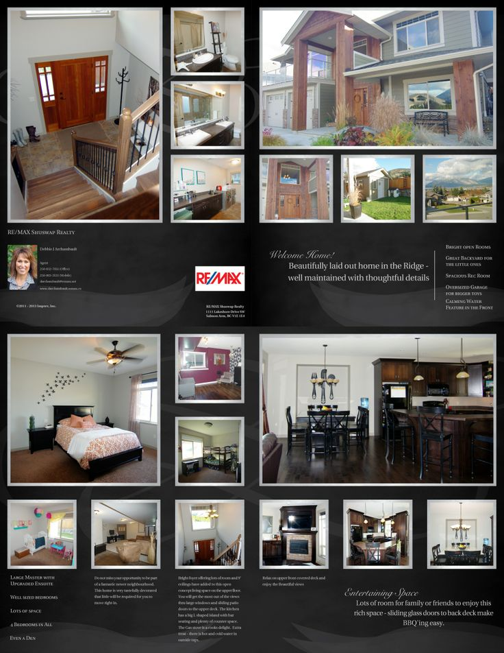 Beautiful Home - 1240 23rd Ave SW, Salmon Arm - Listing Brochure (Copy)
