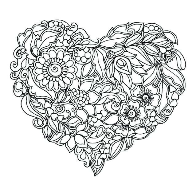 Color Flowers Fresh Flower Coloring Pages For Adults Liandolacom
