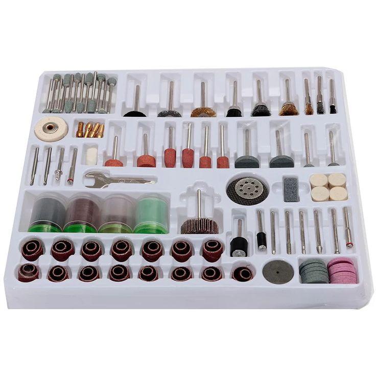 216 pcs Mini Rotary Power Drill Tool Accessory Kit Set Fits Dremel Multi Tools (Intl) | Lazada PH