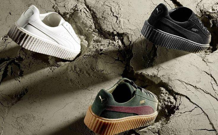 """La creación de Rihanna junto a la marca PUMA ha sido seleccionada como el mejor zapato del año. """"The Creeper"""" de la línea llamada Fenty x Puma ganó como #ShoeOfTheYear por la revista Footwear News."""