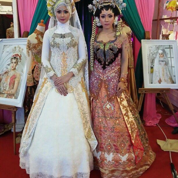 Kebaya gaun pengantin full payet jepang n batu kristal