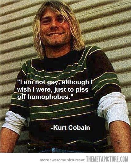 Kurt Cobain was such a punk