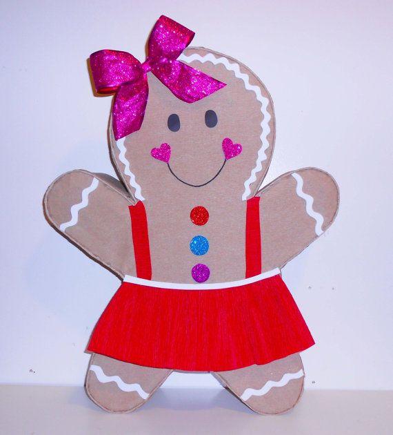 Piñata galleta de jengibre piñatas navideñas piñatas de