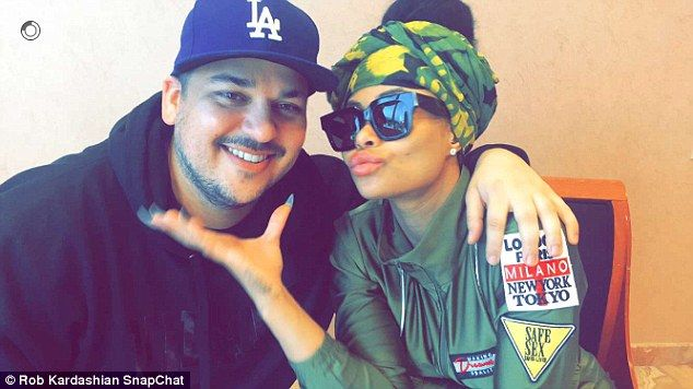 Welcome back! Rob Kardashian posted a video of himself and Blac Chyna on Thursday - the first posed photo of him in years