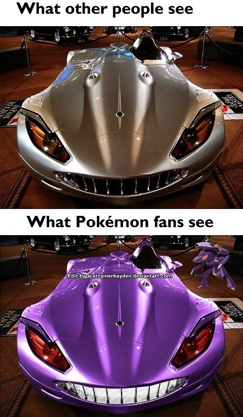 Pokémon Fans See Pokémon Everywhere