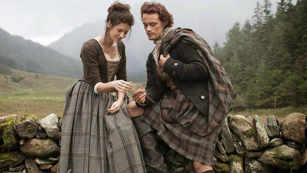 For Cath and Steve:  New Outlander trailer from Starz showcases sexy time travel