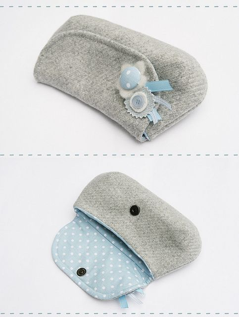 blue candy pouch by countrykitty, via Flickr