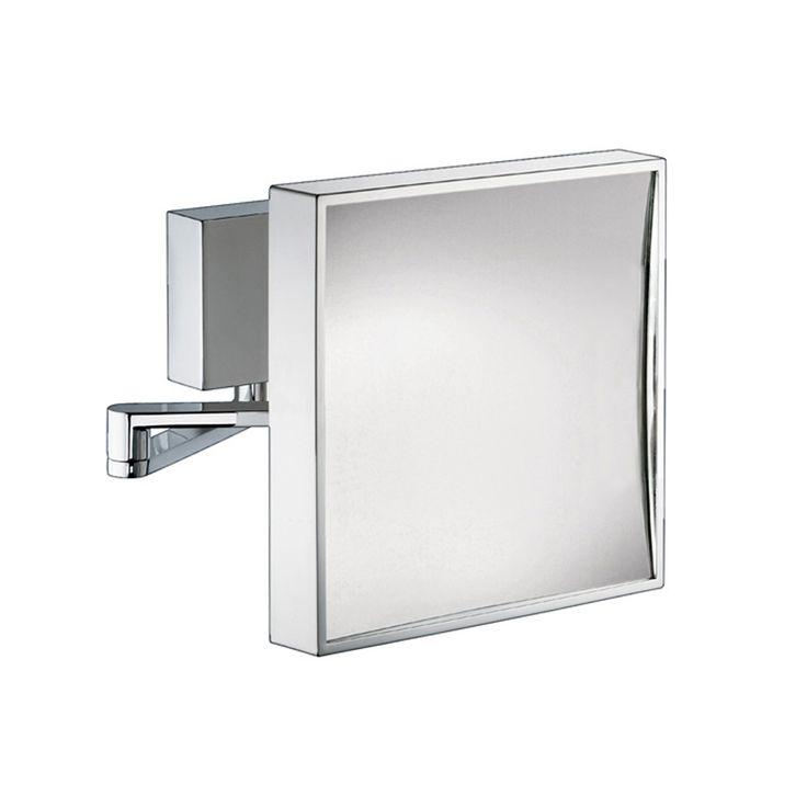 Extendable Bathroom Mirror Square