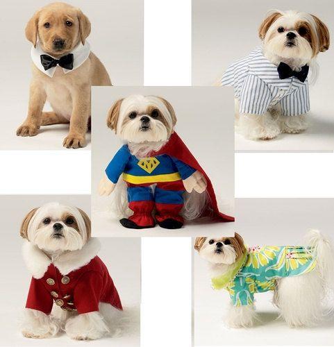 DOG CCLOTHES PATTERN  / Superman  Dress  Santa  by WhatCameFirst, $6.99