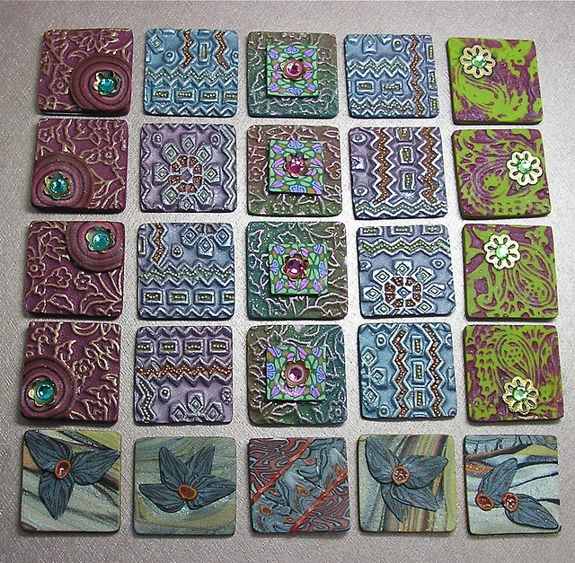 Polymer Clay Inchie Swap   Flickr - Photo Sharing!