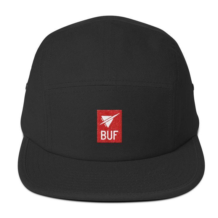 BUF Buffalo Airport Code 5-Panel Cap