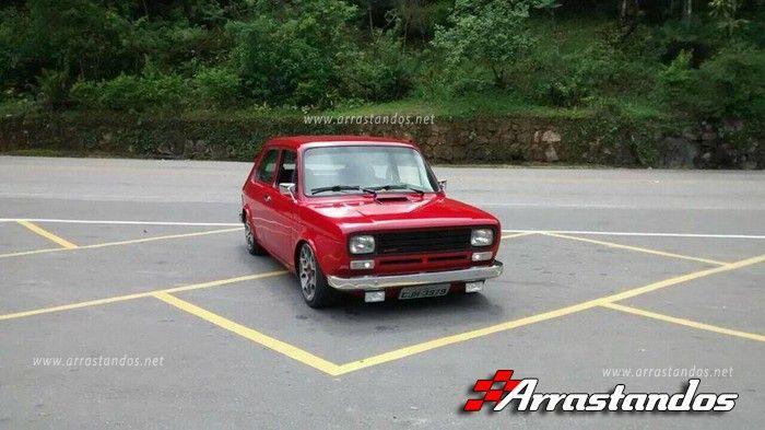 Fiat 147 Com Rodas Aro 16 Do Fiat 500 Abarth E Mecanica 16v Top