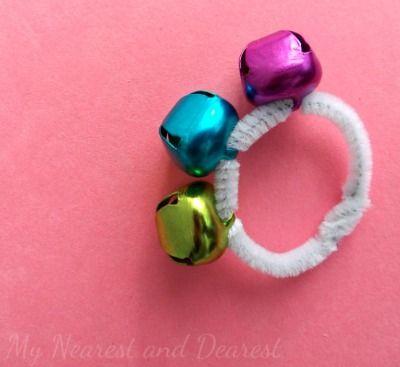 Kids DIY Jingle Bell Bracelets~ My Nearest and Dearest