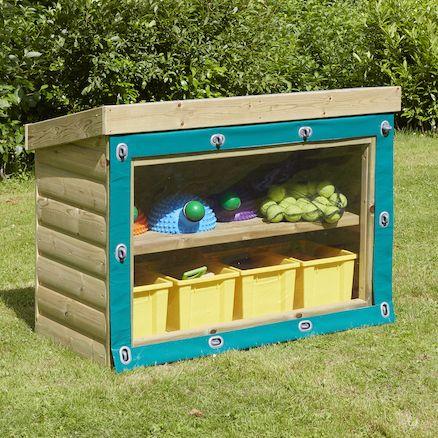 17 best ideas about outdoor storage units on pinterest for Garden storage solutions