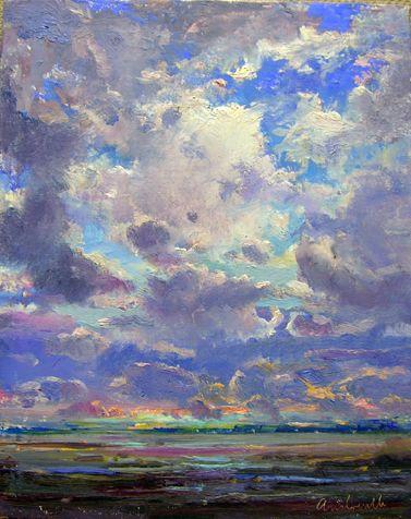Sky Scape by Robert Andriulli, 2011 -- Steven Scott Gallery ☁