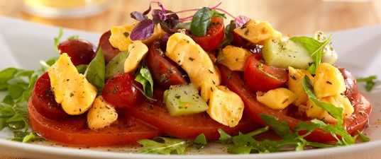 Wisconsin Cheese Curd Caprese Salad   Wisconsin Milk Marketing Board