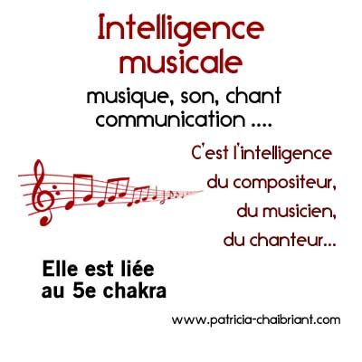 intelligences multiples définition de l'intelligence musicale liée au 5e chakra, le chakra de la gorge