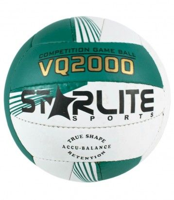 Volleyball Color Availability :Green & White Size : 18 Panels  Type :Professional Volleyball