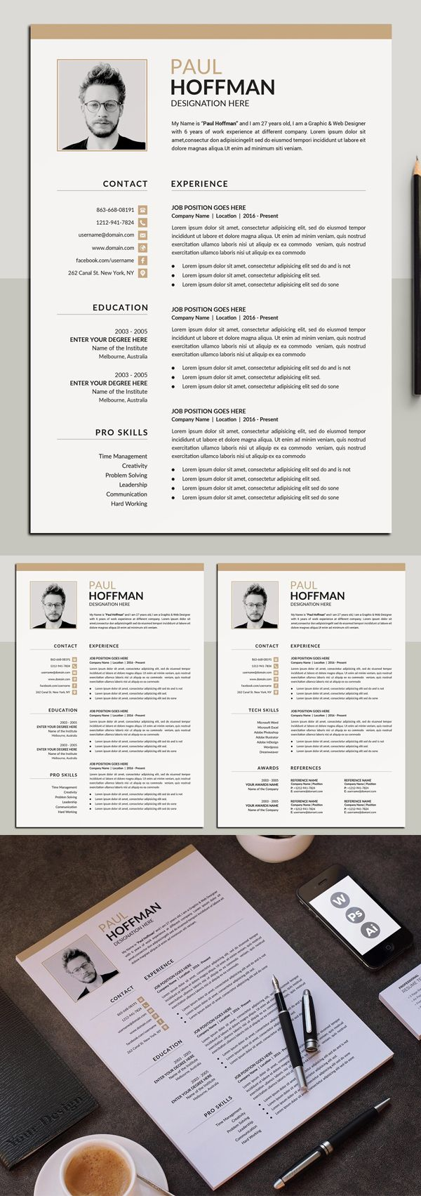 Perfect Resume Template / CV in 2020 Cv template