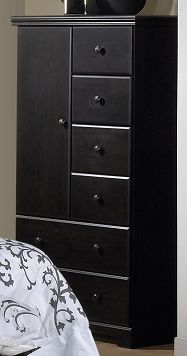 Bedroom Furniture-Ravendale Door Chest