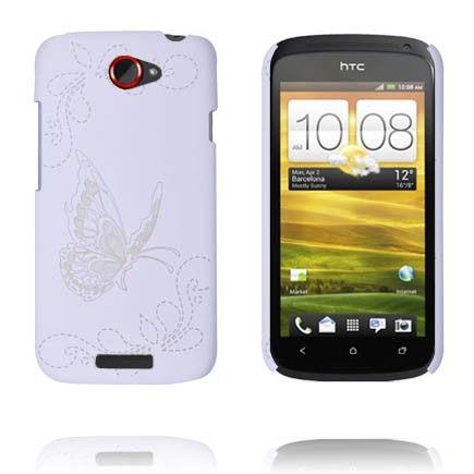 Joy (Valkoinen) HTC One S Suojakuori