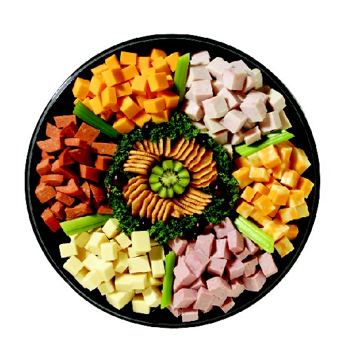 ::empty link:: I like the idea of cubing everything up and doing a meat & cheese tray together. Would be easy to do ahead of time and refill as needed.