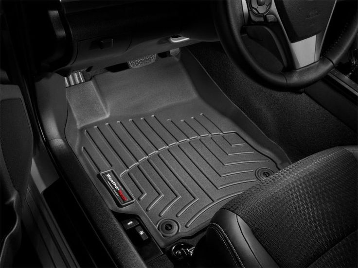 WeatherTech 2007-2014 GMC Yukon XL 2500 1500/ 2007-2014 Chevrolet Suburban 2500 1500 Front and Rear Floorliners Mats - Black