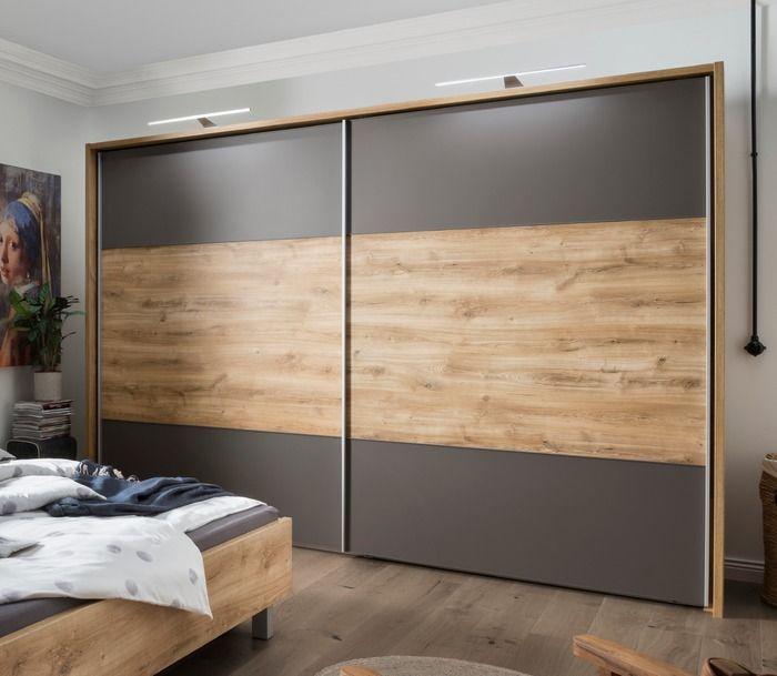 wiemann wardrobes portland 250 x 217 cm oak optics farmhouse