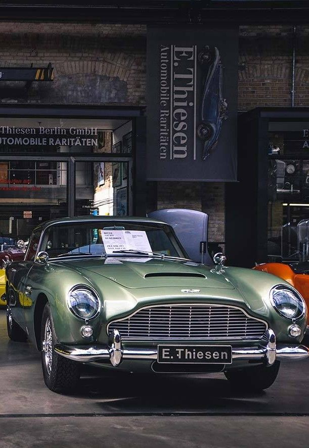 Aston Martin DB6 Tell me how are you