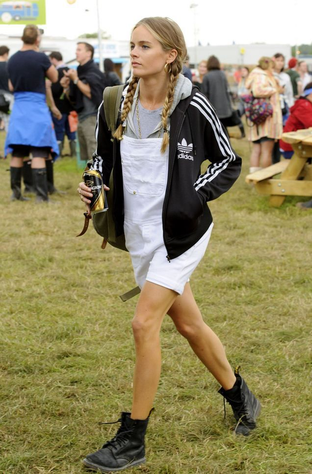 Cressida Bonas at Glastonbury