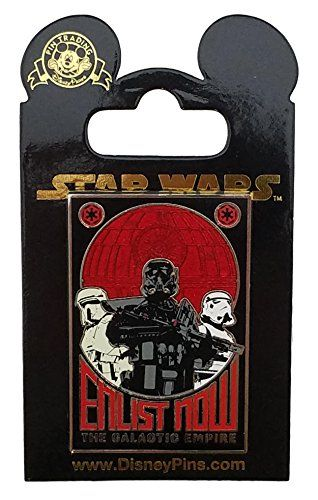 Disney Pin - Star Wars: Rogue One - Enlist Now Empire Poster //Price: $15.95 & FREE Shipping //     #starwarslife